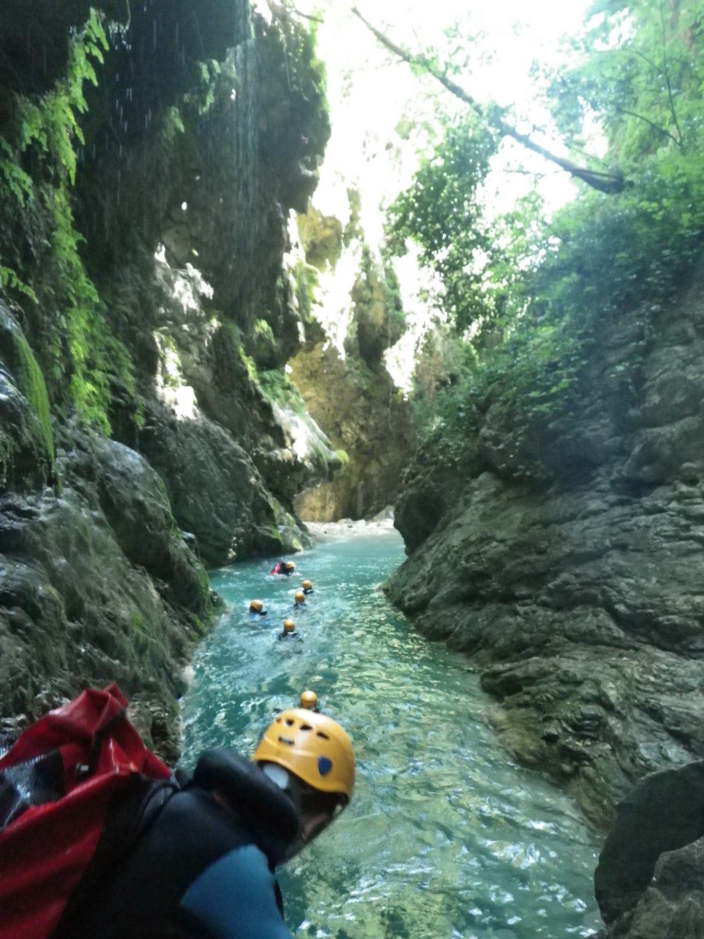 canyoning sur Nice Côte d'Azur -Canyon06