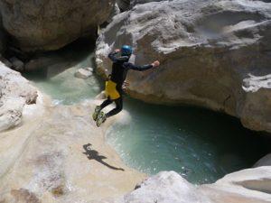 canyoning dans riolan esteron canyon06