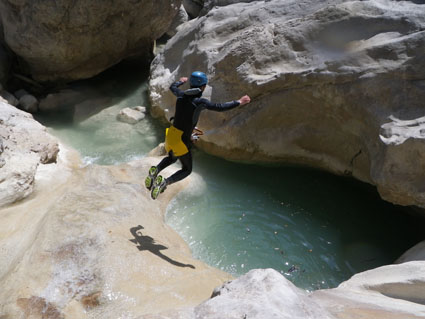 canyoning dans riolan esteron - 06