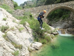 Rio Barbaira: le départ du canyon