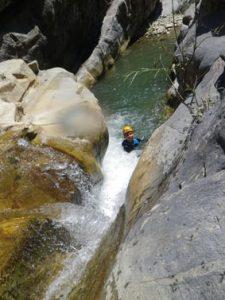 Cramassouri, un des plus beaux canyons du sud pour l'initiation