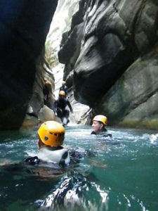 initiation canyoning-saut-bombe