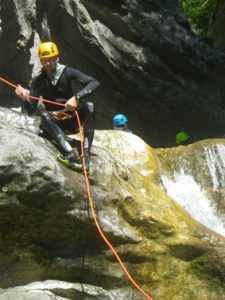 initiation canyoning fin-canyon