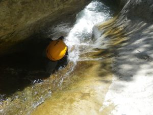 initiation-canyoning-toboggan