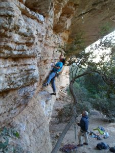 grimpe en catalogne margalef
