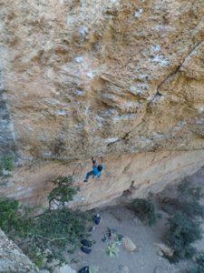 grimpe en catalogne margalef tenebres