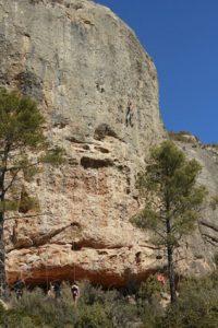 Grimpe-en-Catalogne espadelles margalef