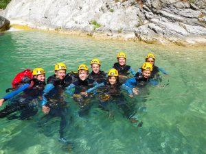 Du canyonisme pour les vacances d'été