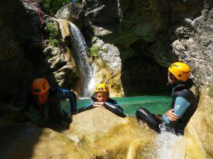 Canyoning à Barbaira-Nice