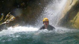 Localisation des plus beaux spots de canyoning des Alpes Maritimes