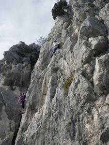 escalade à la turbie-Les-Surplombs-13