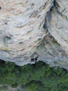 escalade en grande voie-peril jaune 7